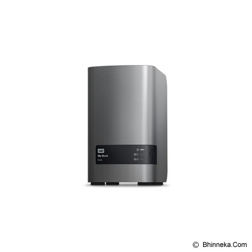 WD My Book Duo 4TB [WDBLWE0040JCH] - Hard Disk External 3.5 Inch